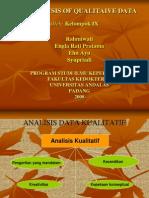 1. Analisis Data Kualitatif