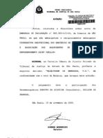 EMBARGOS DE DECLARAÇÃO n 589.993-43-01sf