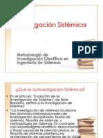 Investigacion sistemica