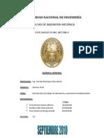 Informe Final de Quimica General LAB 1