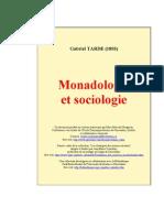 Tarde Monadologie Et Socio