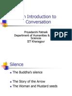 Conversation Intro Studied