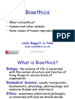 Bioethics for VIth Formers