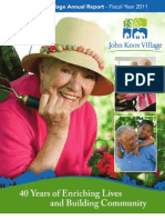 2011 John Knox Village Annual Report