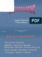 Web Cataloging AP