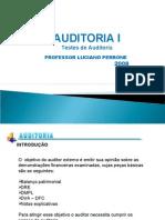 Aula 6 - Testes de Auditoria