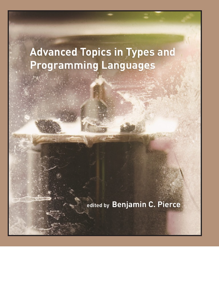 Advanced Topics in Types and Programming Languages | Data Type | Modular  Programming