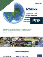 Ecolink Brochure Nov 2003