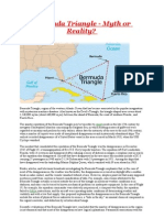 Bermuda Triangle - Myth or Reality