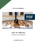 Guía de Complejos. Estética de Teleseries de José Luis Molinuevo