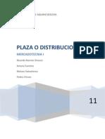 Plaza o Distribucion