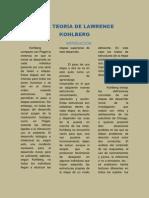LA TEORÍA DE LAWRENCE KOHLBERG