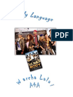 Filmverslag ''Body Language''