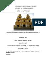 Mapa de Conocimiento ECBTI La Plata