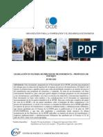 OCDE - Directrices en materia de precios de transferencia