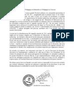 Carta a Alumnos FCB (22 Octubre 2011)