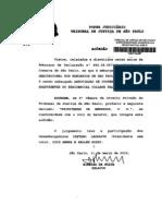 Embargos de Declaração n 994.08.057345950002