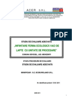 INFIINTARE FERMA ECOLOGICĂ VACI DE