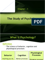 1. the Study of Psychology