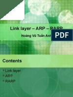 Link Layer - ARP - RARP (Final)