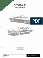 XJS 1990 1991 Elec Guide