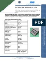 Infinity EPDM Foamed Sheet