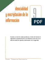Confidencialidad y encriptación de la información