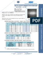 Infinity Electrical Resistant Matting NEW 09-2011