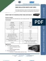 Infinity NBR PVC Insulation Sheet Tube