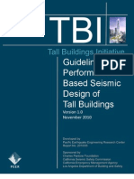 Guidelines for Seismic Performance of Tall Buildings