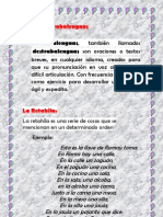 sintesis español