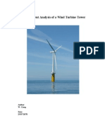 W GONG Finite Element Analysis of a Wind Turbine Tower[1]
