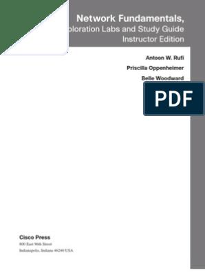 63465356-Ccna-Lab-Book-1 | Cisco Certifications | Computer