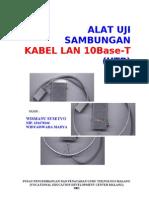 Alat Uji Sambungan Kabel LAN 10baseT