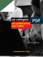 Journal 2003