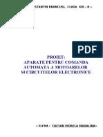 Aparate Pt Comanda Automata a Motoarelor Si Circuitelor Electron Ice