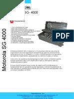 Ficha Tecnica Motorola Sg-4000
