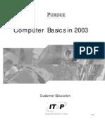 Computer Basics 2003