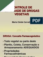 Controle de Qualidade de Drogas Vegetais