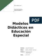 Modelos Didacticos en Educacion Especial-jacque
