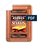 Juan Calvino - El Libro de Oro