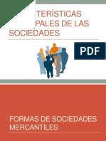 Características Principales de las Sociedades