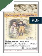 MA English, Pride and Prejudice