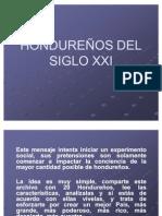 HONDUREÑOS DEL SIGLO XXI