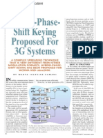 HPSK Proposed for 3G Systems
