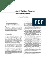 Structural Welding D1.4