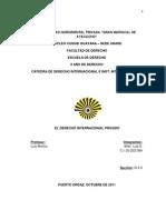 Trabajo de Derecho Internacional