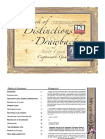 Book of Distinctions and Drawbacks