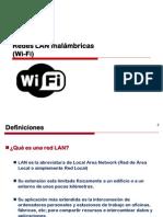 Redes LAN Inalámbricas