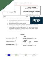 teste de avaliação1 F1